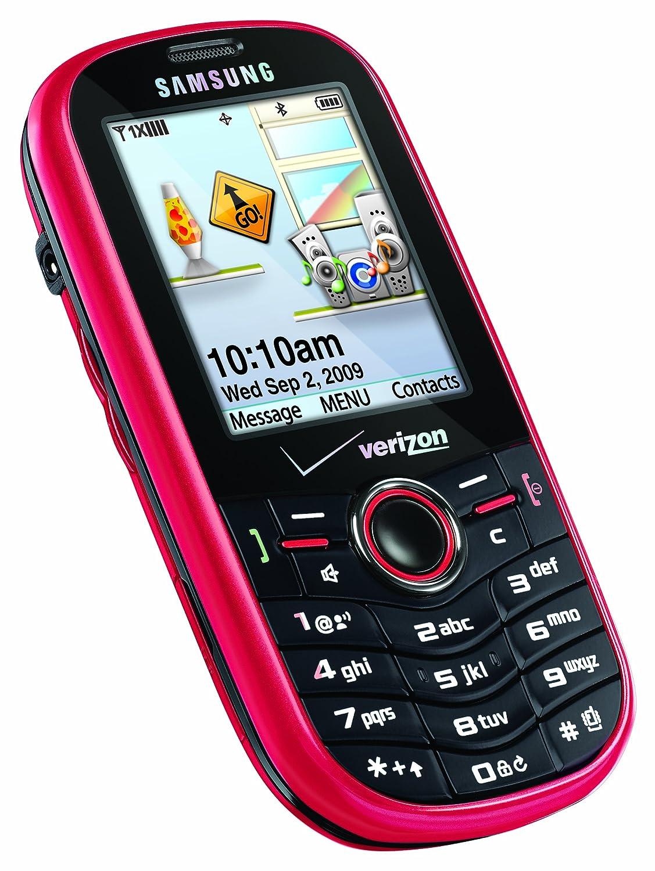 Amazon.com: Samsung Intensity, Flamingo Red (Verizon Wireless): Cell Phones  & Accessories