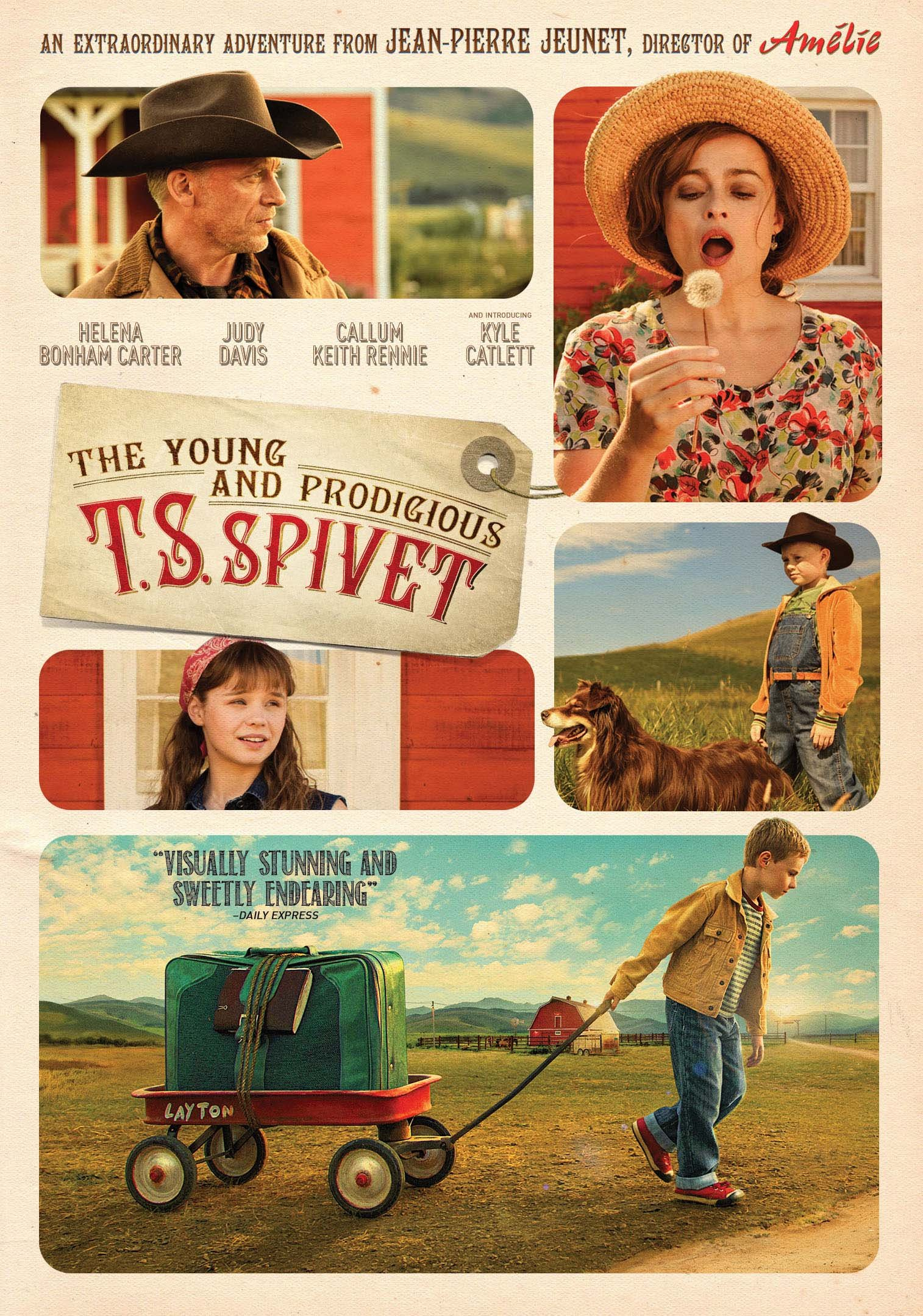 DVD : The Young and Prodigious T.S. Spivet (DVD)