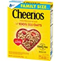 2-Pack Cheerios Gluten Free Cereal w/ Whole Grain Oats, 18 oz