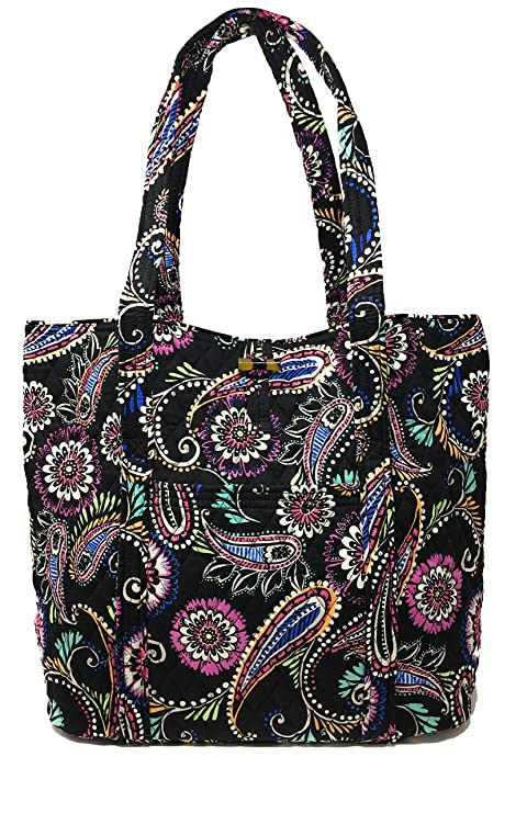 Vera Bradley Vera Tote Bag, Bandana Swirl  Amazon.ca  Clothing   Accessories 62fa16c4f1