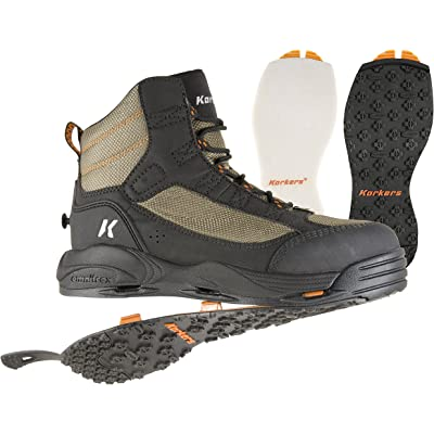 Korkers Greenback Wading Boot with Felt & Kling-On Soles