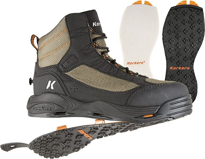 Darkhorse Wading Boot with Felt Korkers  Fly Fishing