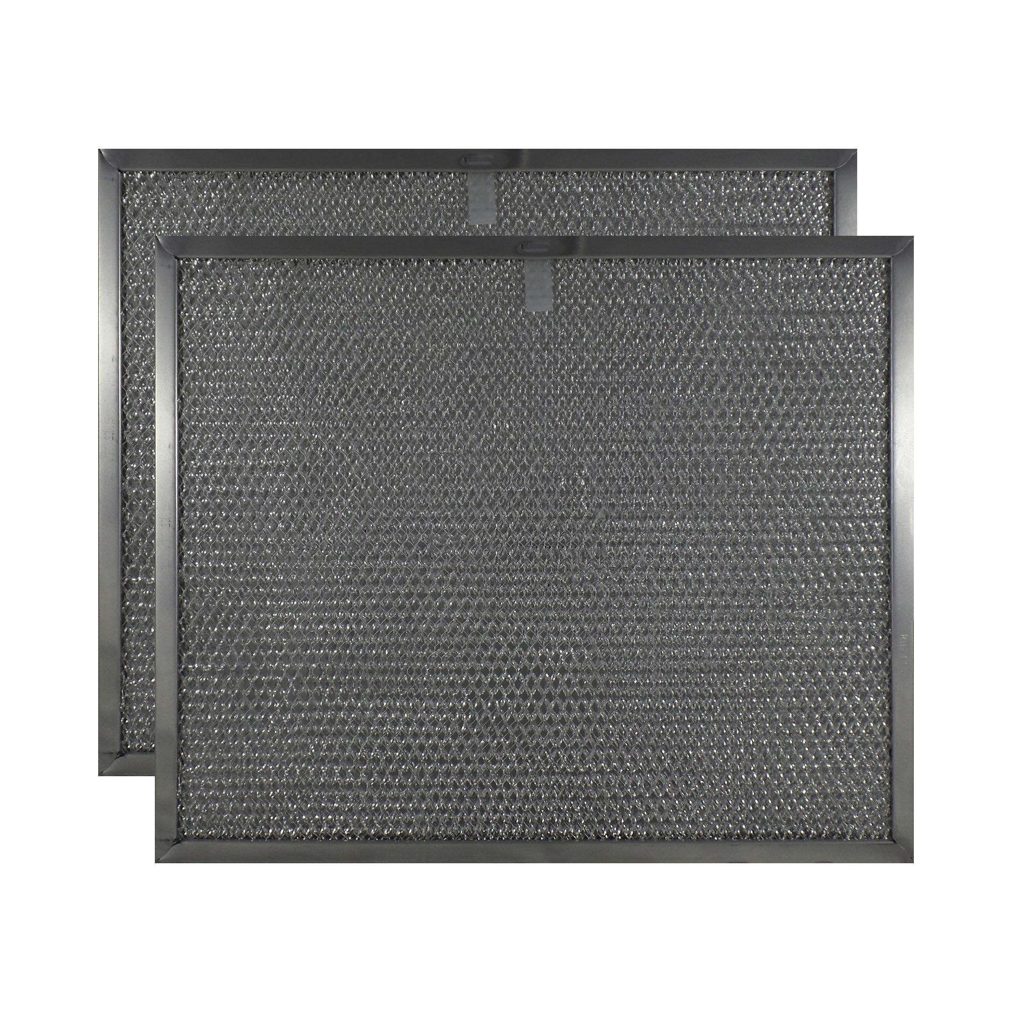 2 PACK Air Filter Factory 11-7/8 X 14-11/32 X 3/8 Range Hood Aluminum Grease Filters AFF198-M