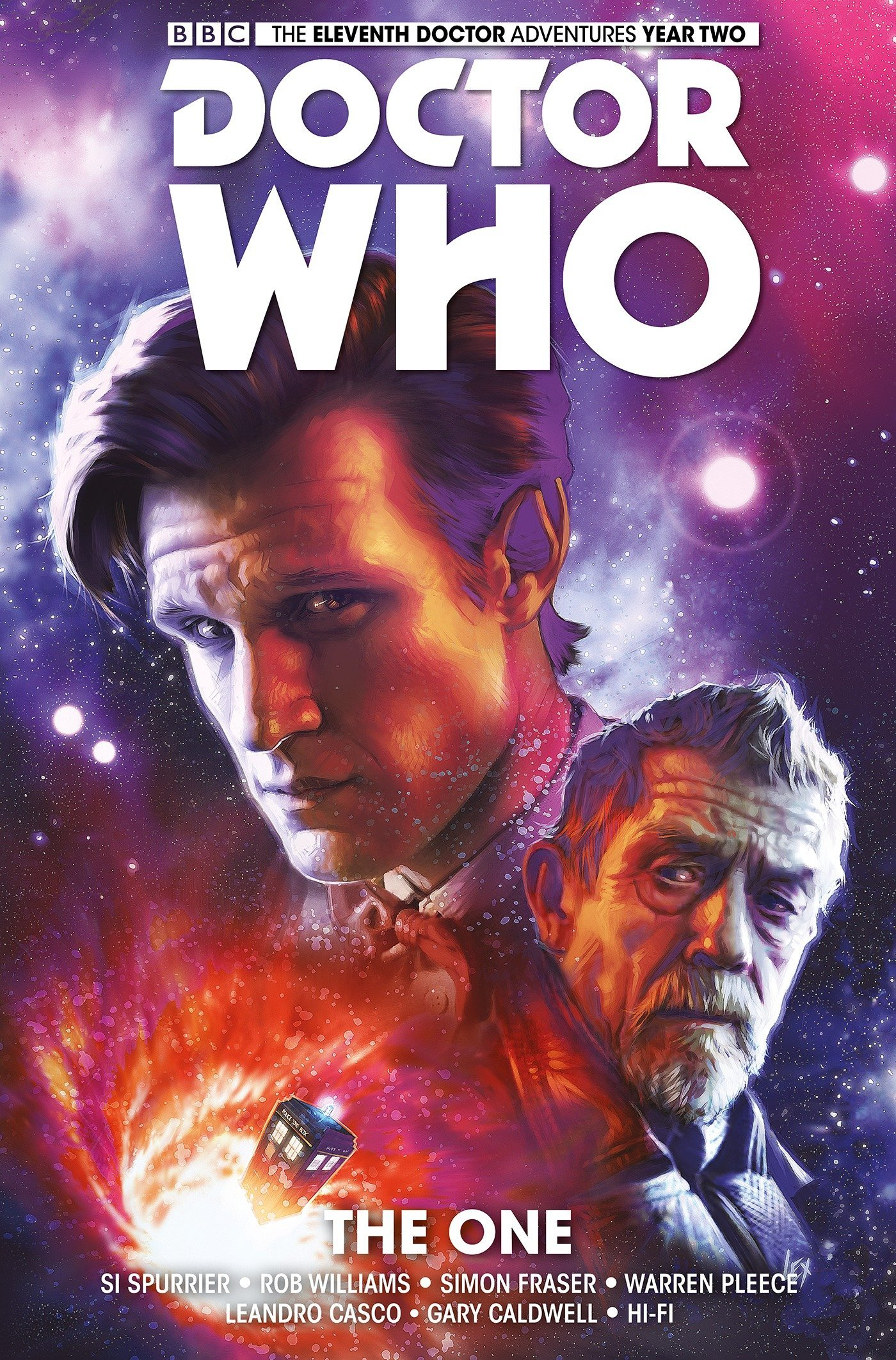 Doctor Who: The Eleventh Doctor Volume 5 - The One Hardcover – September 27, 2016