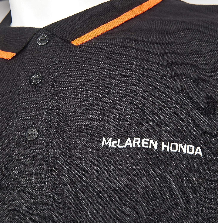 McLaren Honda F1 Team - Polo para hombre, color negro, color ...