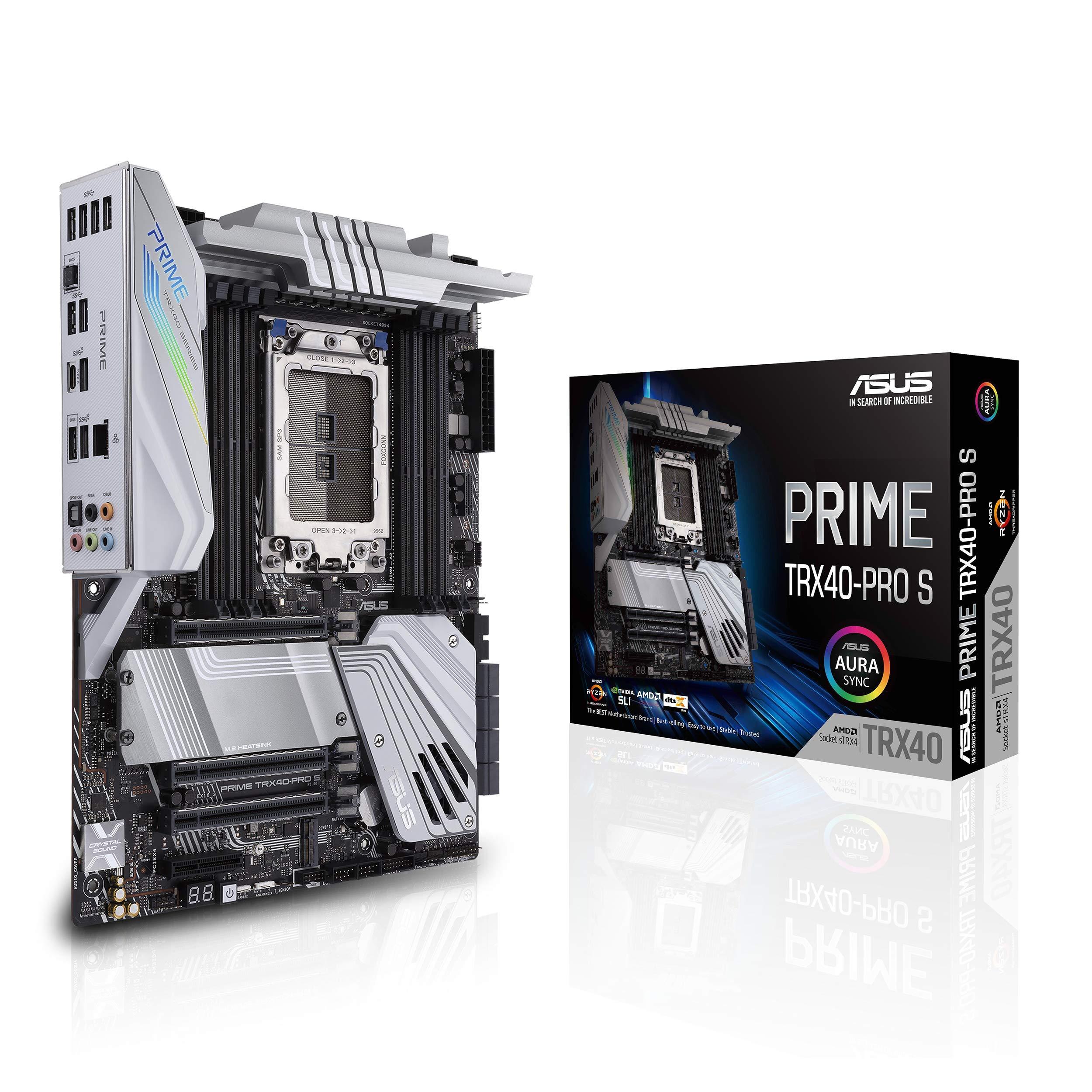 ASUS Prime TRX40-Pro S AMD STRX4 3rd Gen Ryzen Threadripper