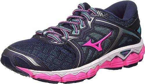 Mizuno Wave Sky Wos, Zapatillas de Running para Mujer: Amazon ...
