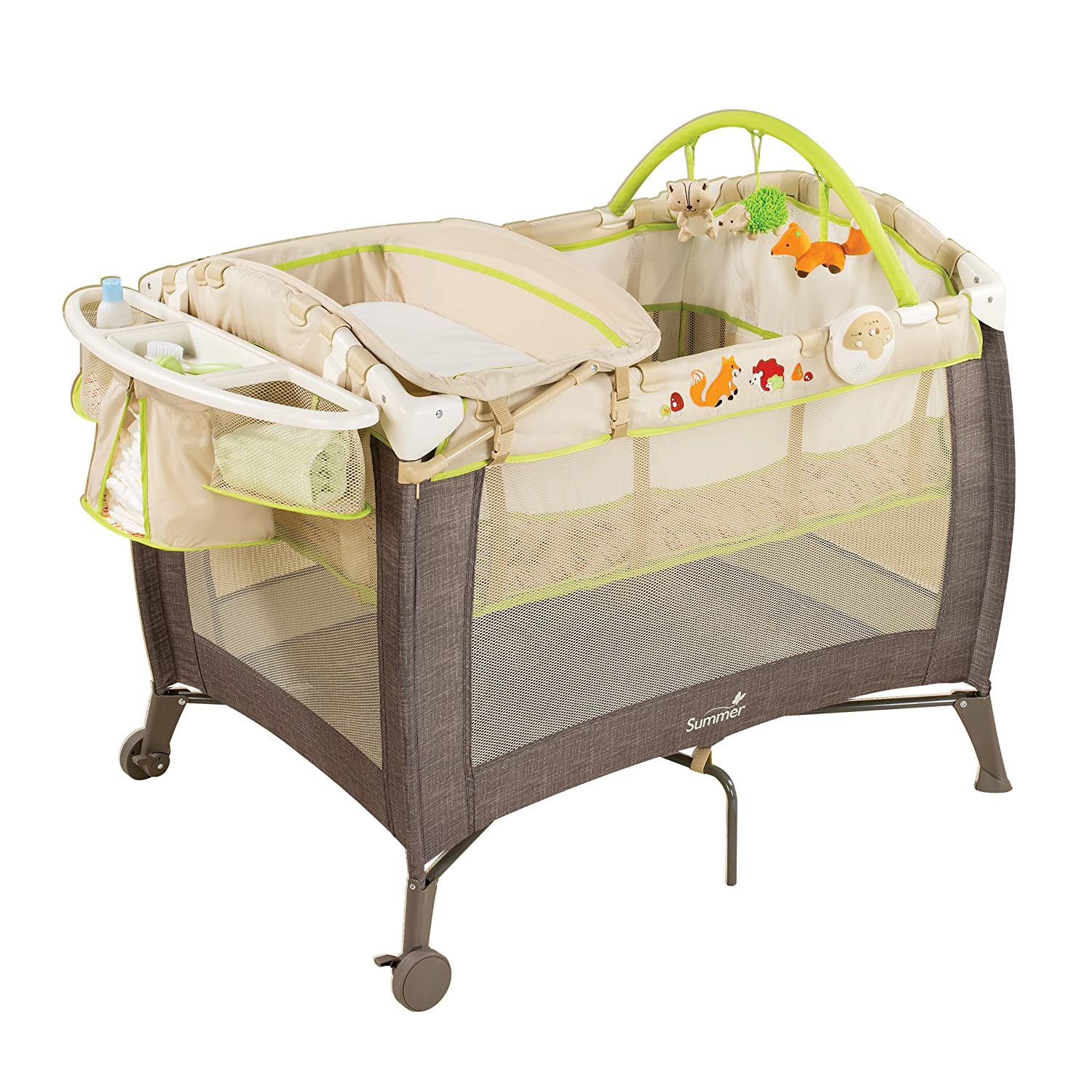 Amazon Summer Infant Grow with Me Playard and Changer Fox