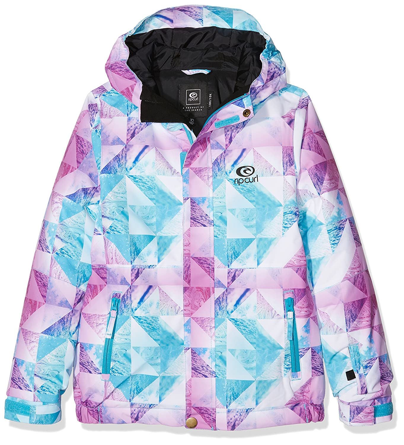 e46e64d33 RIP CURL Enigma Printed Jr Jkt Girl's Snow Jacket: Amazon.co.uk ...