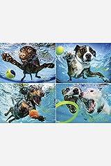 Underwater Dogs 2 1000-piece Puzzle Misc. Supplies
