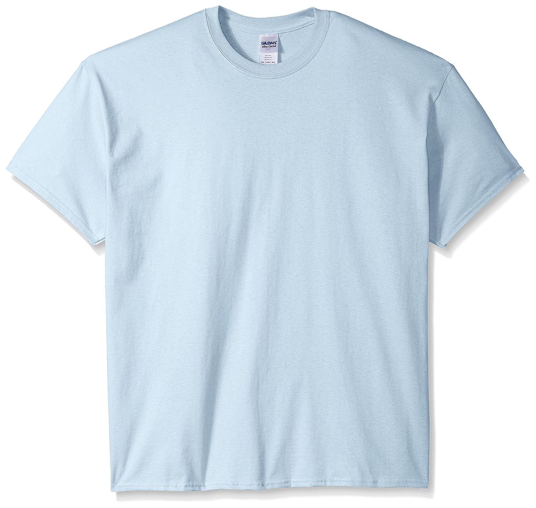 (ギルダン) Gildan メンズ ウルトラコットン クルーネック 半袖Tシャツ トップス 半袖カットソー 定番アイテム 男性用 B00WRZ9EEE XXXL|ライトブルー ライトブルー XXXL