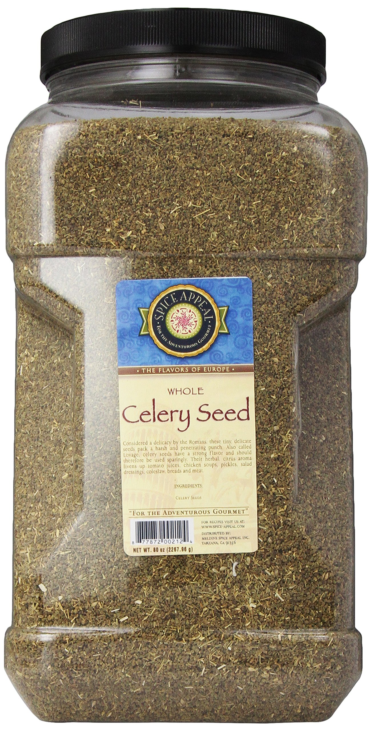 Spice Appeal Celery Seed Whole, 5 lbs