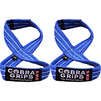 Deadlift Straps Best Straps ON The Market Figure 8 Lifting Straps The #1 Choice for Power Lifters weightlifters Workout…