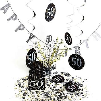 Geburtstagsdeko Tisch Deko Set 50 Geburtstag Knuellermarkt De