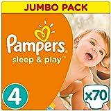 Pampers Sleep e Play dimensioni 4Jumbo, confezione 70pezzi