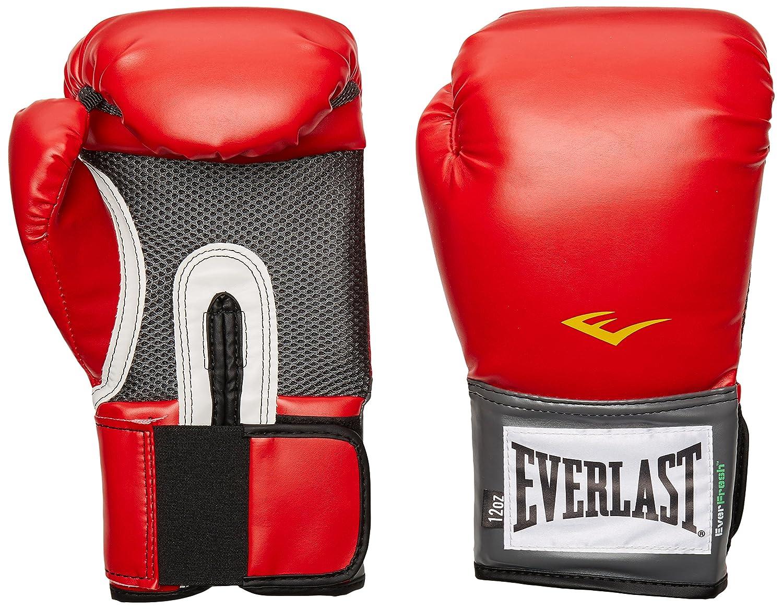Shiv Naresh Teens Boxing Gloves 12oz: Everlast Pro Style Training Gloves Red 16 Oz.