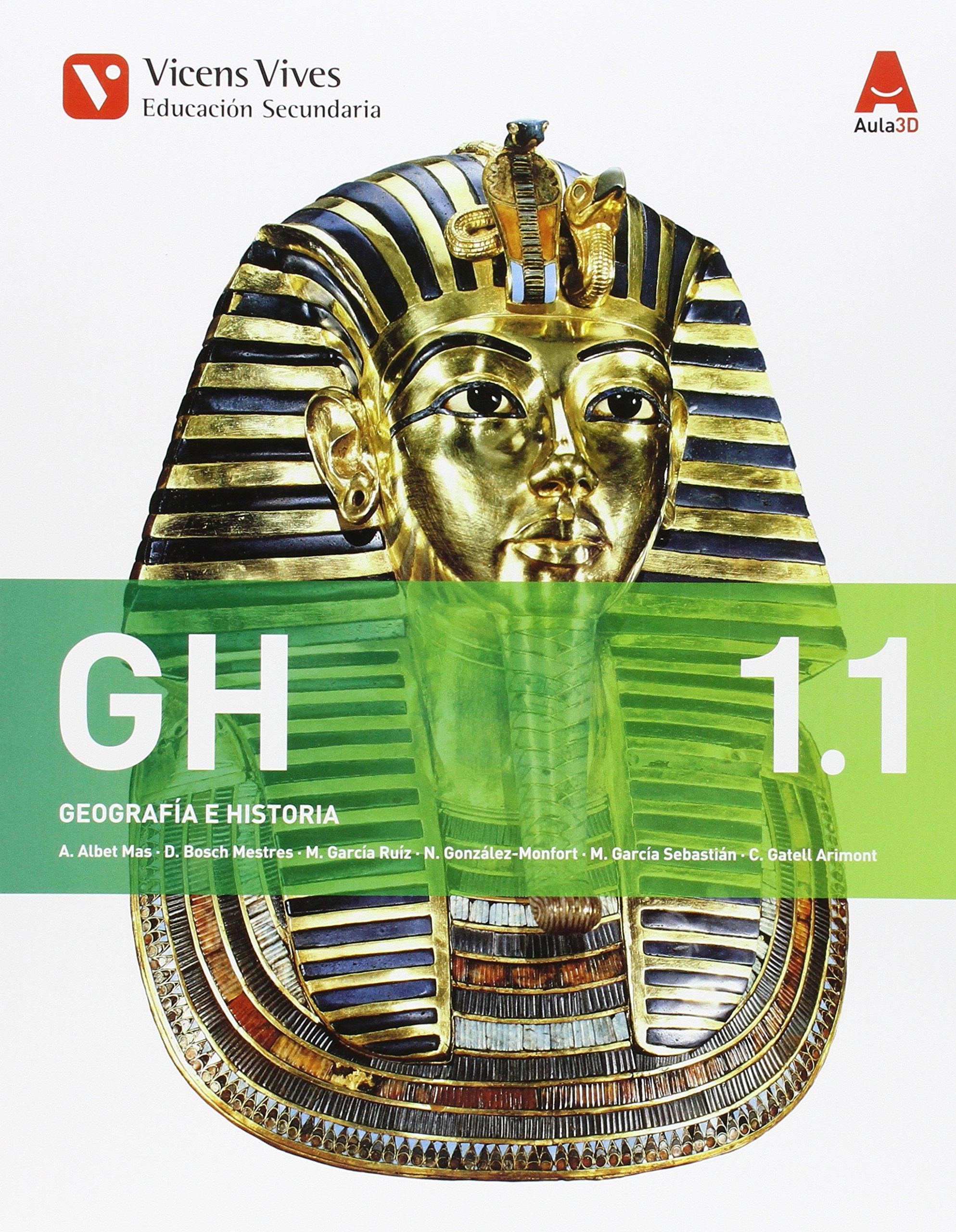 GH 1. Geografía E Historia. Libro 1 Y 2. Aula 3D - 9788468230368: Amazon.es: Albet Mas, Abel, Bosch Mestres, Dolors: Libros