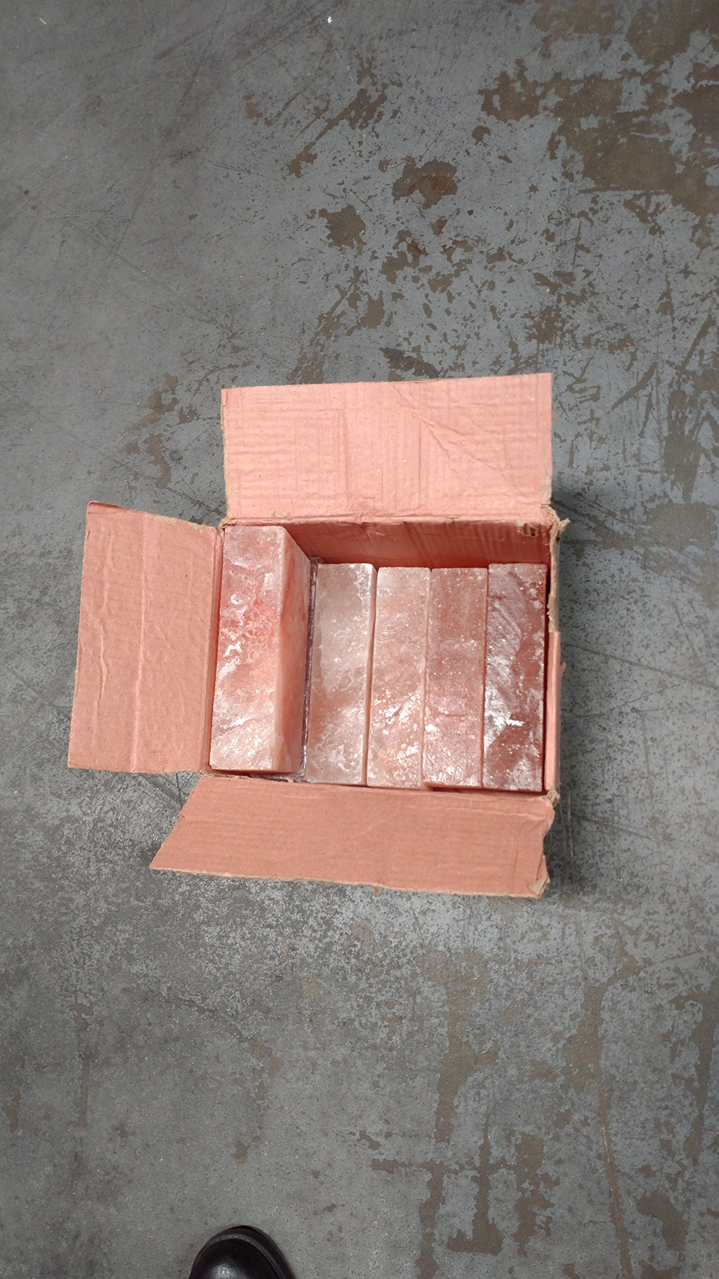 Pink Salt wall Himalayan Salt Brick Set of 20 Size 8''x4''x2'' Crystal Rock Slab Tiles for Home Decor by Pink Salt wall (Image #5)