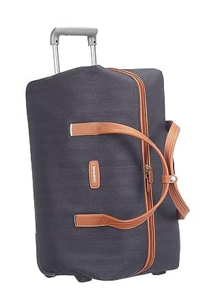Samsonite Lite DLX 55/20 Bolsa de Viaje con Ruedas, 53.5 litros, Color Azul: Amazon.es: Equipaje