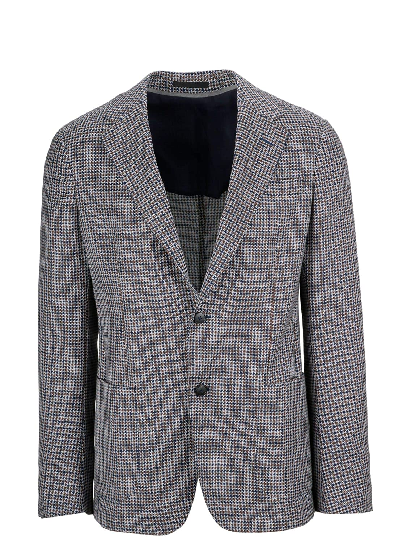 36a6b575 Z Zegna Men's 5547451Dnmg08 Grey Wool Blazer at Amazon Men's ...