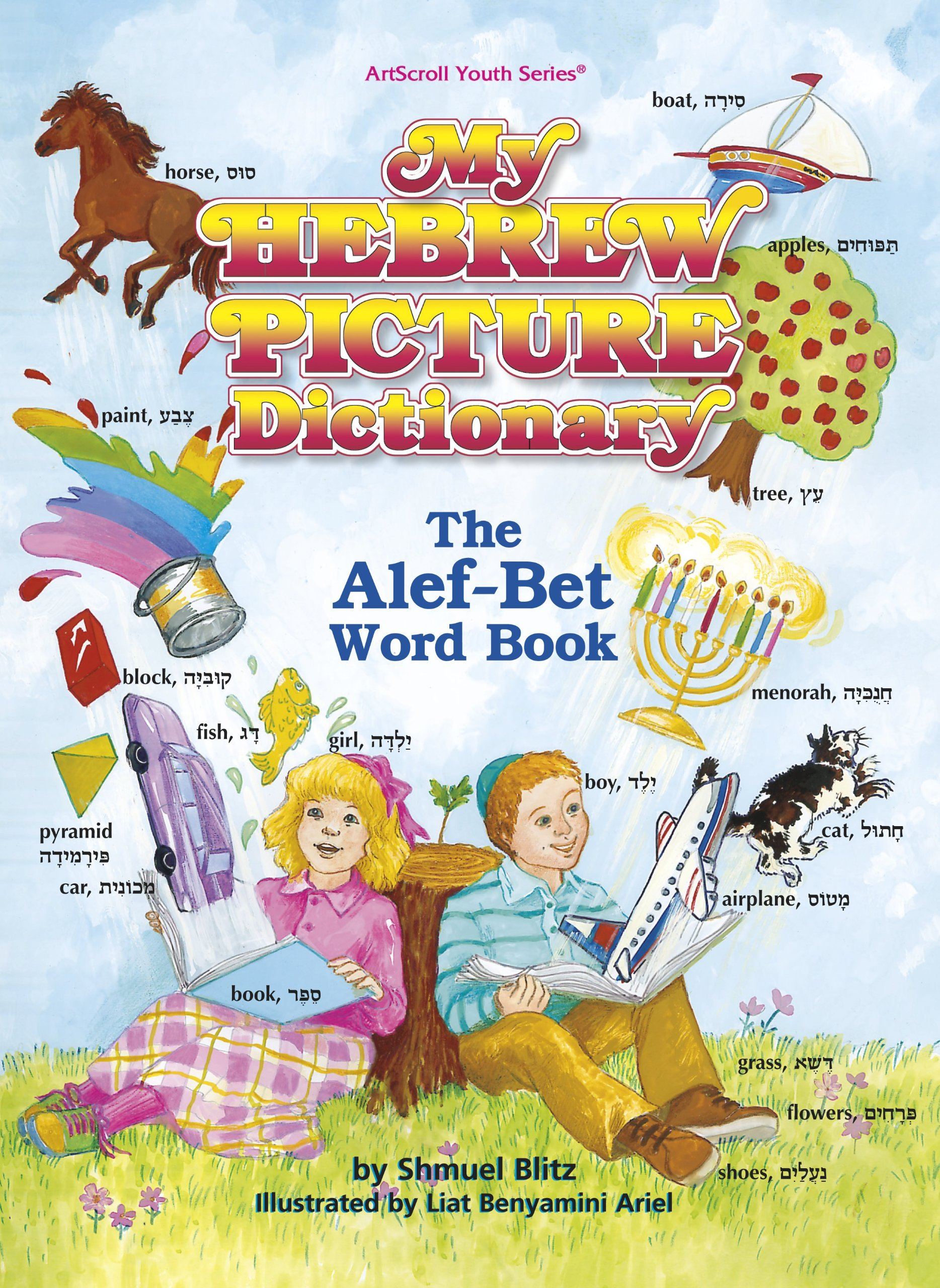 my hebrew picture dictionary the alef bet word book the