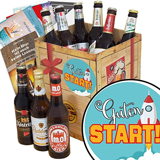 Guten Start Biergeschenke Ostdeutsches Bier Amazonde Bier