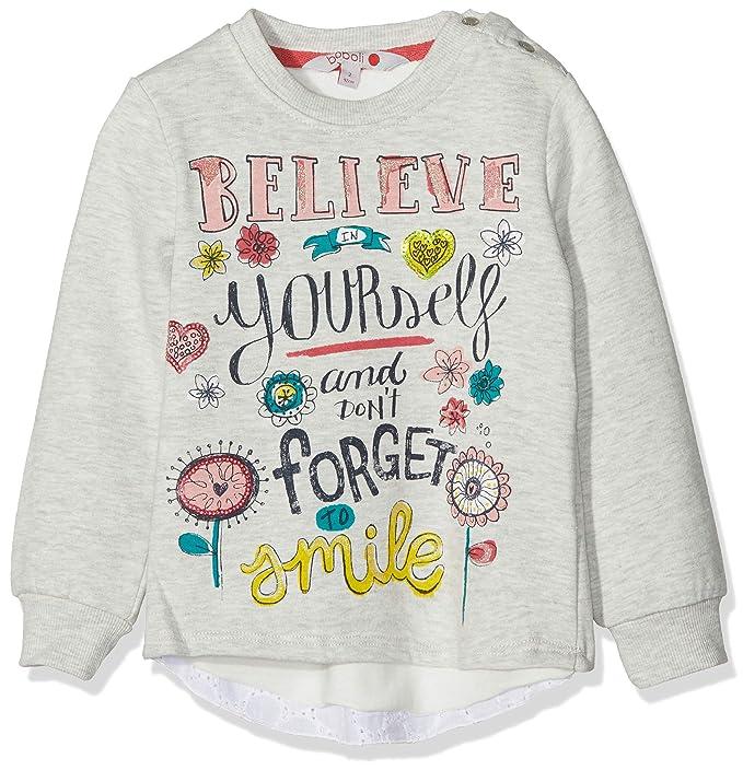 boboli Fleece Sweatshirt For Baby Girl, Sudadera para Bebés: Amazon.es: Ropa y accesorios