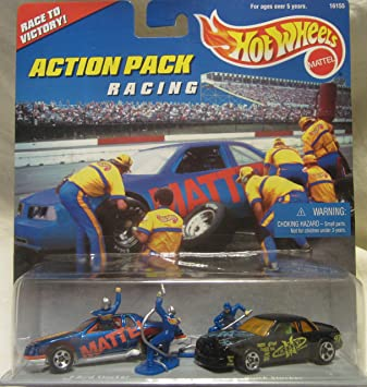 Hot Wheels Action Pack Racing – Juego de 2 Coches de Carreras de ...