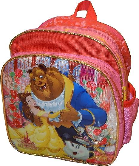 "Mini mochila – Disney – La bella y la bestia – Belle – 10 """