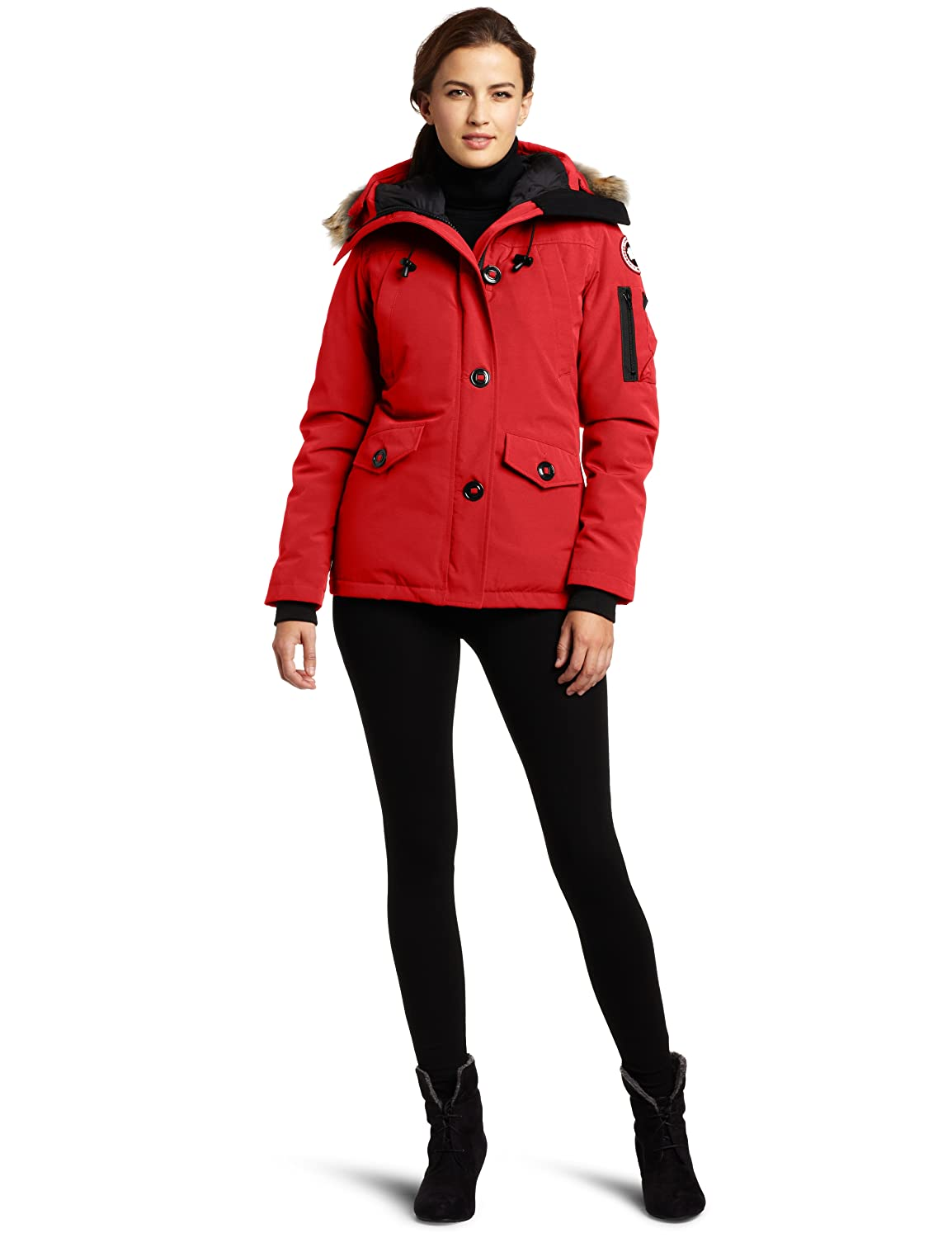 f7421b4013fb9 Amazon.com: Canada Goose Women's Montebello Parka: Clothing
