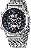 Constantin Durmont Herren-Armbanduhr XL Lafitte Analog Automatik Edelstahl CD-LAFI-AT-STM2-STST-BK