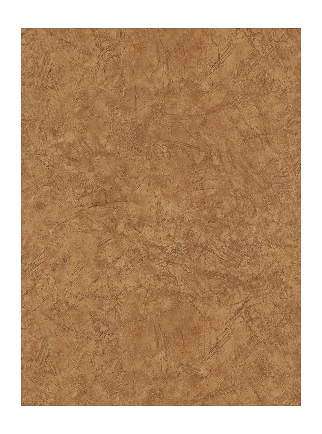 York Wallcoverings NV9442 Lake Forest Lodge Old Leather Wallpaper, Rust