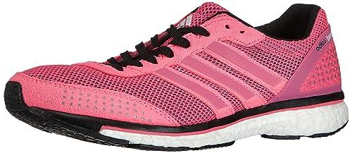 adidas Adizero Adios Boost 2.0 - Zapatillas de running para mujer, Neon Pink/Running White/Running White, 41.3333333333: Amazon.es: Zapatos y complementos