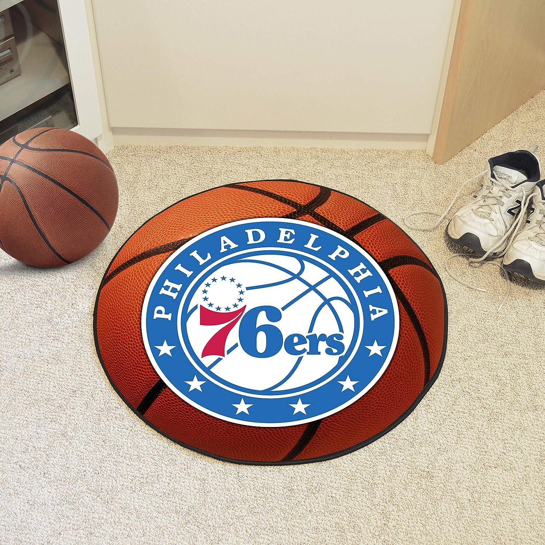 FANMATS NBA Philadelphia 76ers Nylon Face Basketball Rug