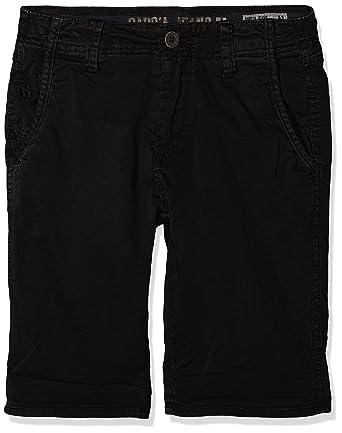 Garcia Kids Jungen Shorts N83720, Schwarz (Raw Black 1793), 128