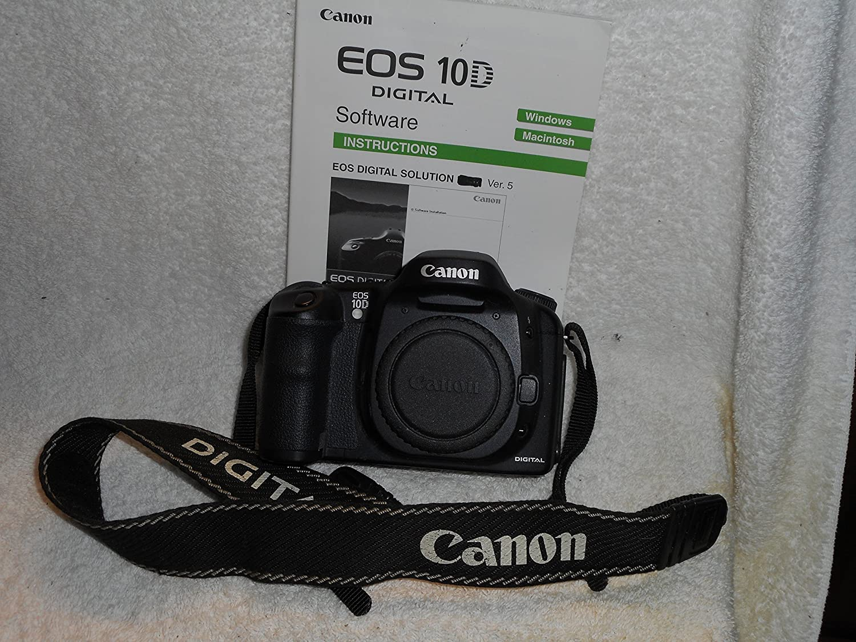 Amazon.com : Canon EOS-10D DSLR Camera (Body Only) : Dslr : Camera & Photo