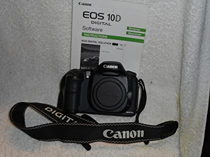 amazon com canon eos 10d dslr camera body only dslr camera rh amazon com Canon EOS 50D Canon EOS 5D