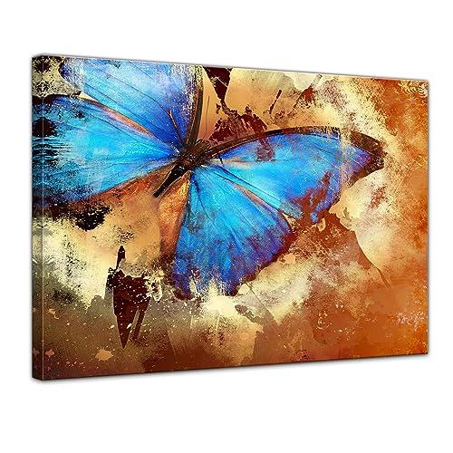 tableau et toile de papillon. Black Bedroom Furniture Sets. Home Design Ideas