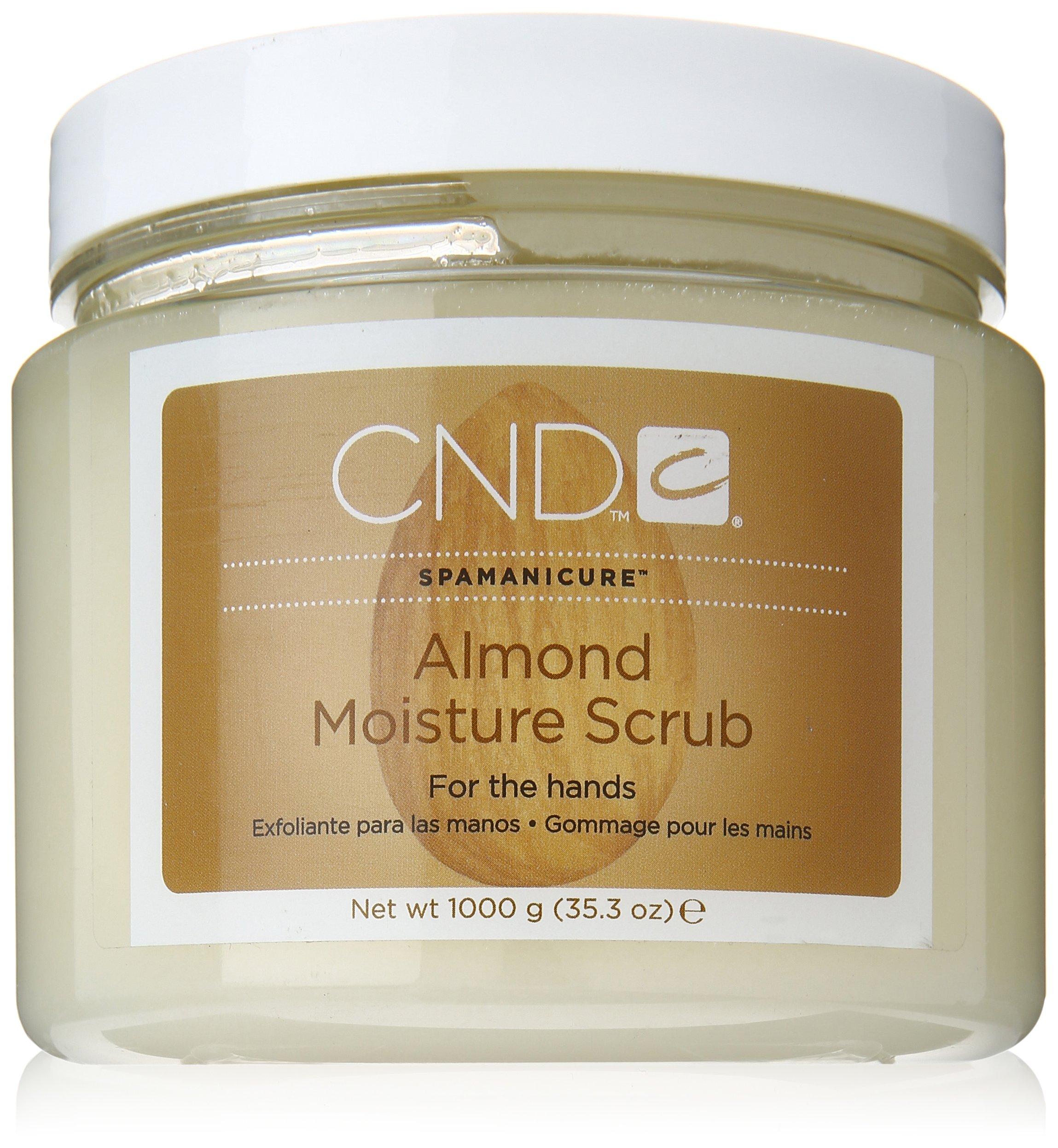 CND Almond Moisture Scrub, 35.29 fl. oz.