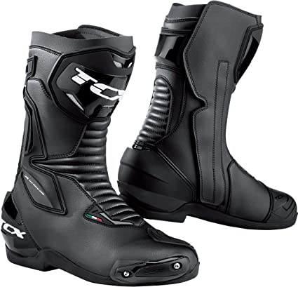 TCX Mens Roadster 2 Street Motorcycle Boots Black Size 42