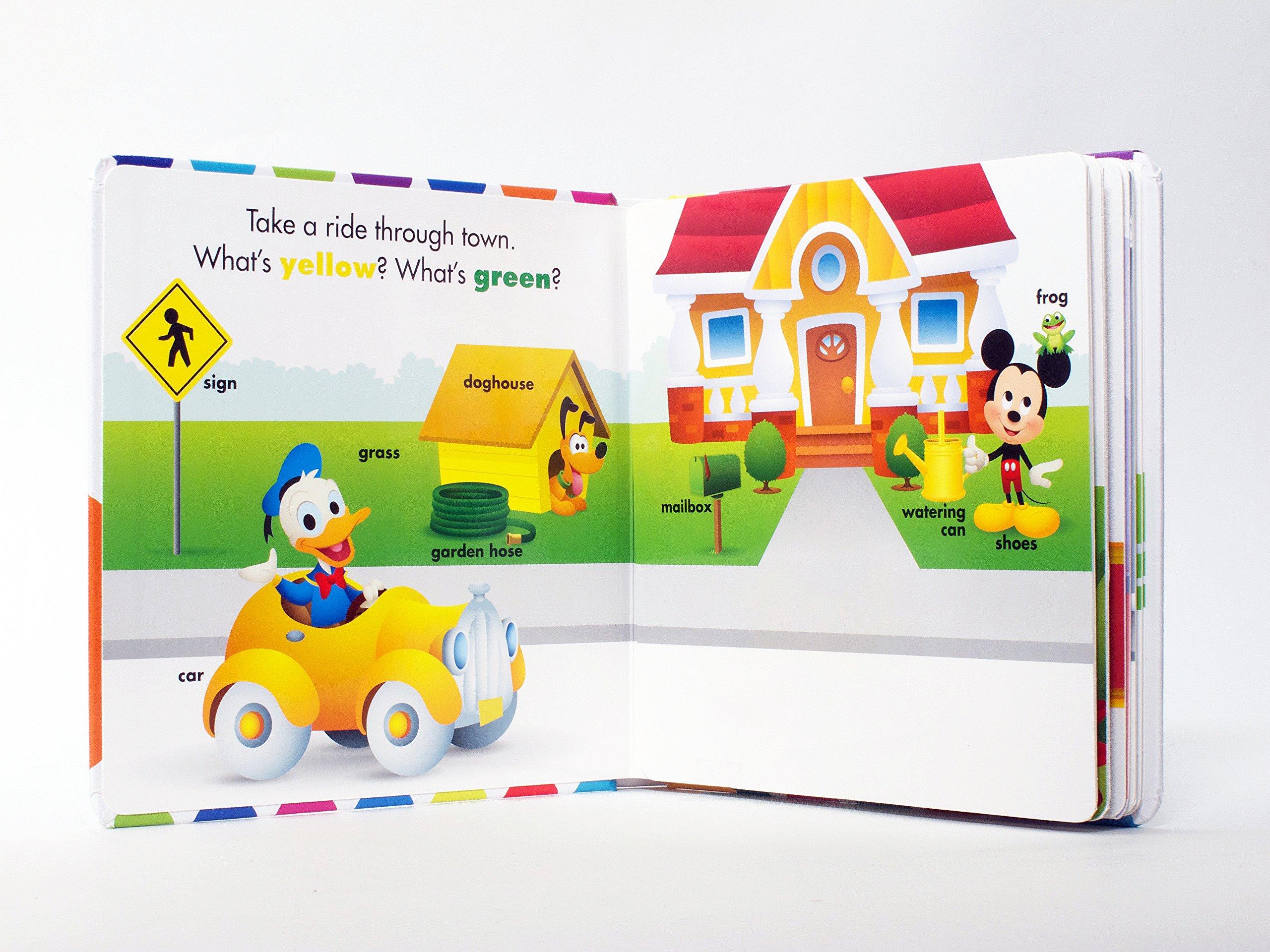 Disney Baby My First Colors: Marcy Kelman, Disney Storybook Art Team ...