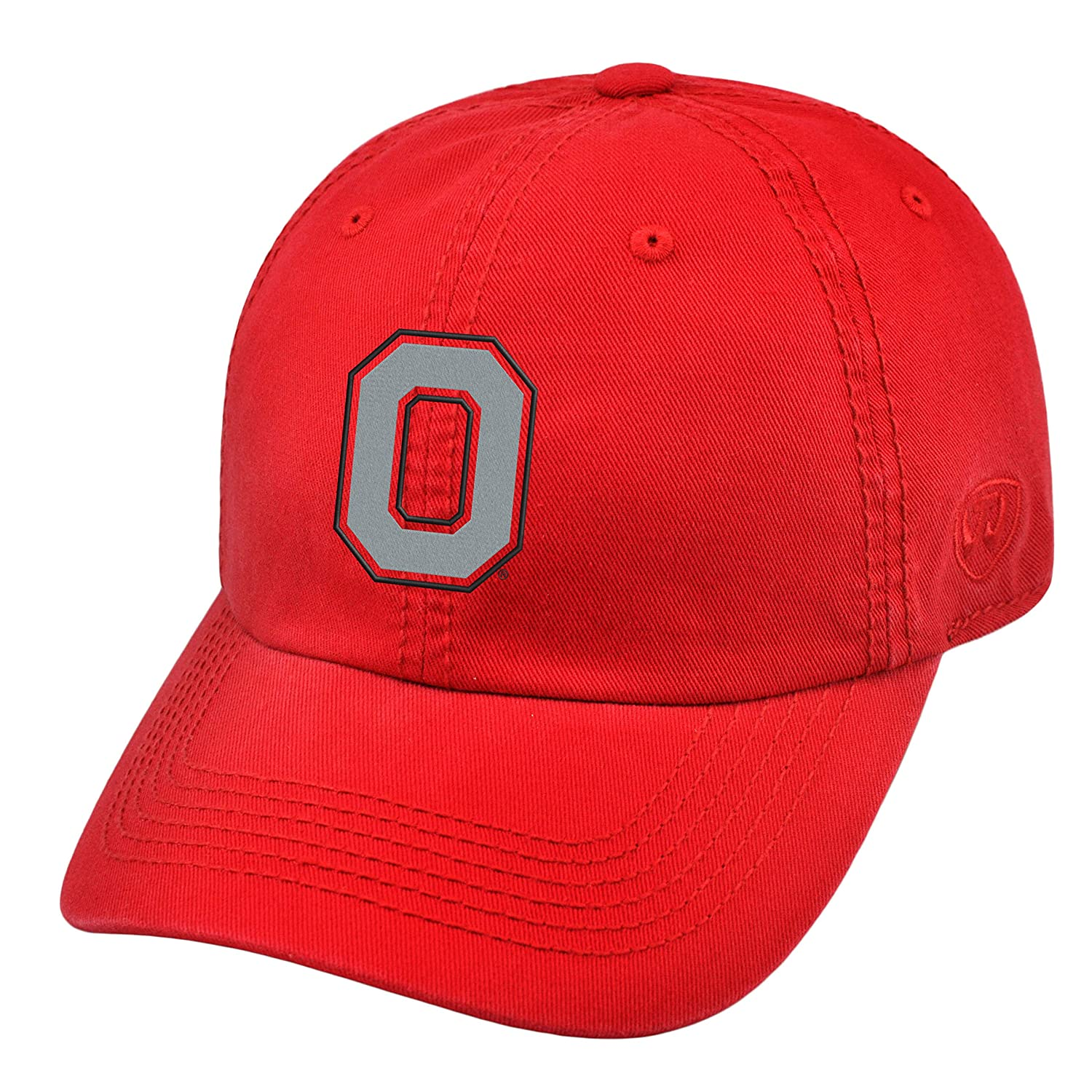 competitive price c9440 ca7f6 Amazon.com  Top of the World Ohio State Buckeyes Official NCAA Adjustable  Crew Hat Cap 203881  Clothing