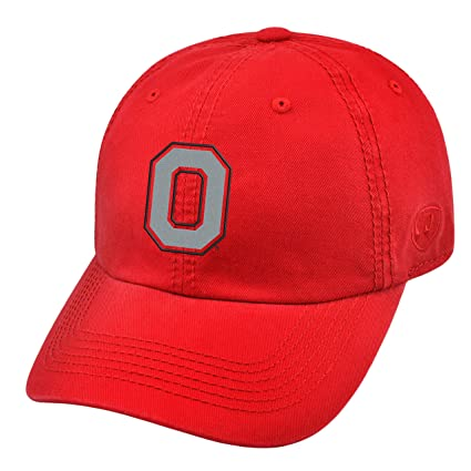 size 40 ad8f9 24a1a Top of the World Ohio State Buckeyes Official NCAA Adjustable Crew Hat Cap  203881