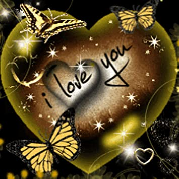 Amazon Com I Love You Heart Butterfly Live Wallpaper Appstore
