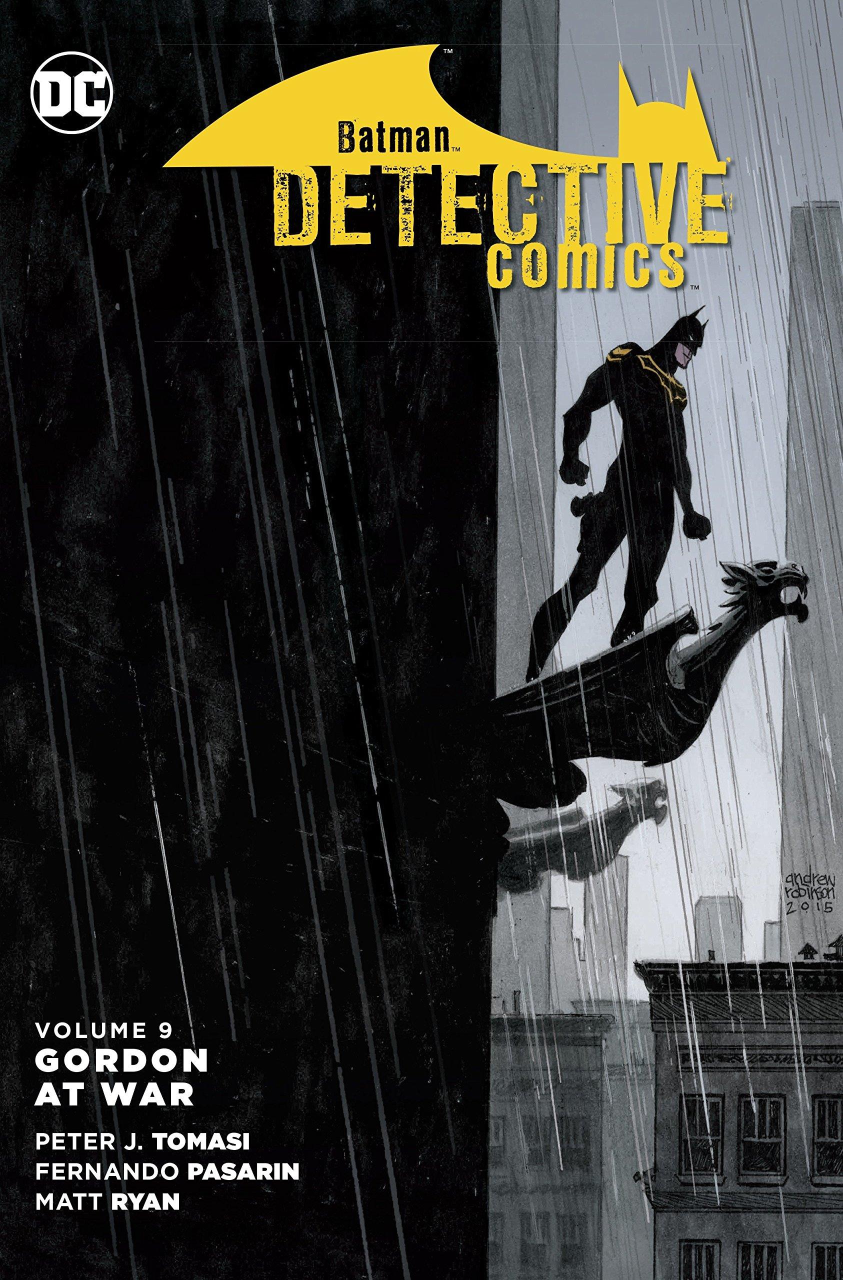 Download Batman: Detective Comics Vol. 9: Gordon at War pdf epub
