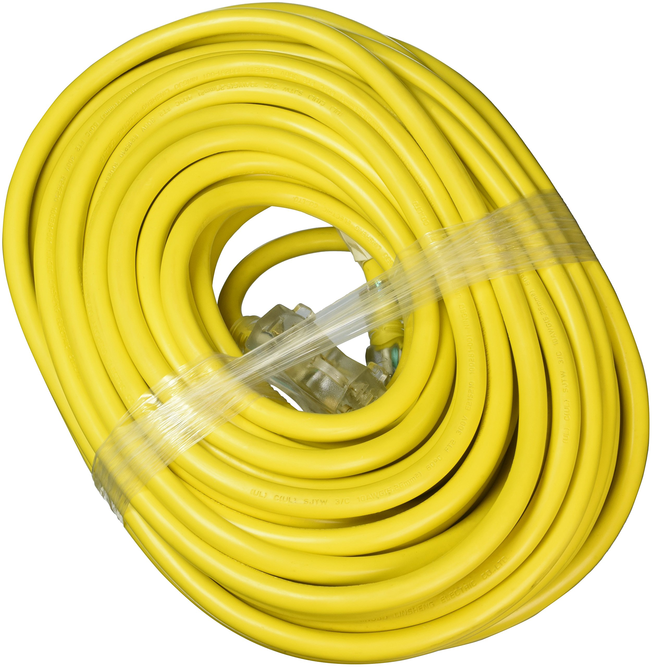 ATE Pro. USA 70061 Extension Cord, 100', 10 Gauge, 3-Prong by ATE Pro. USA