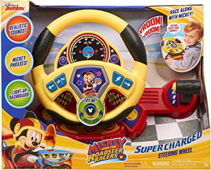 Amazon.com: Mickey Roadster Racers volante supercargado ...
