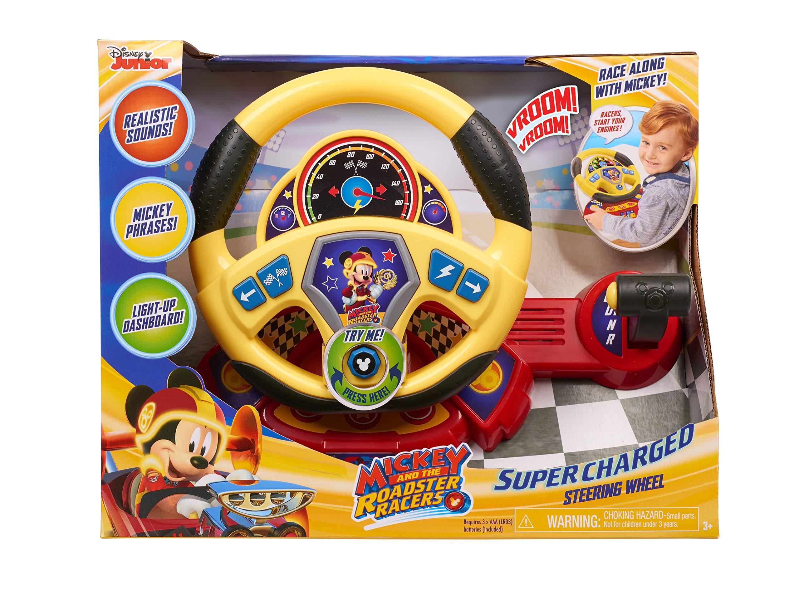 Mickey Roadster Racers SuperCharged Steering Wheel