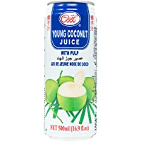 Ice Cool Young Coconut Juice wt Pulp, 500ml (Pack of 24)