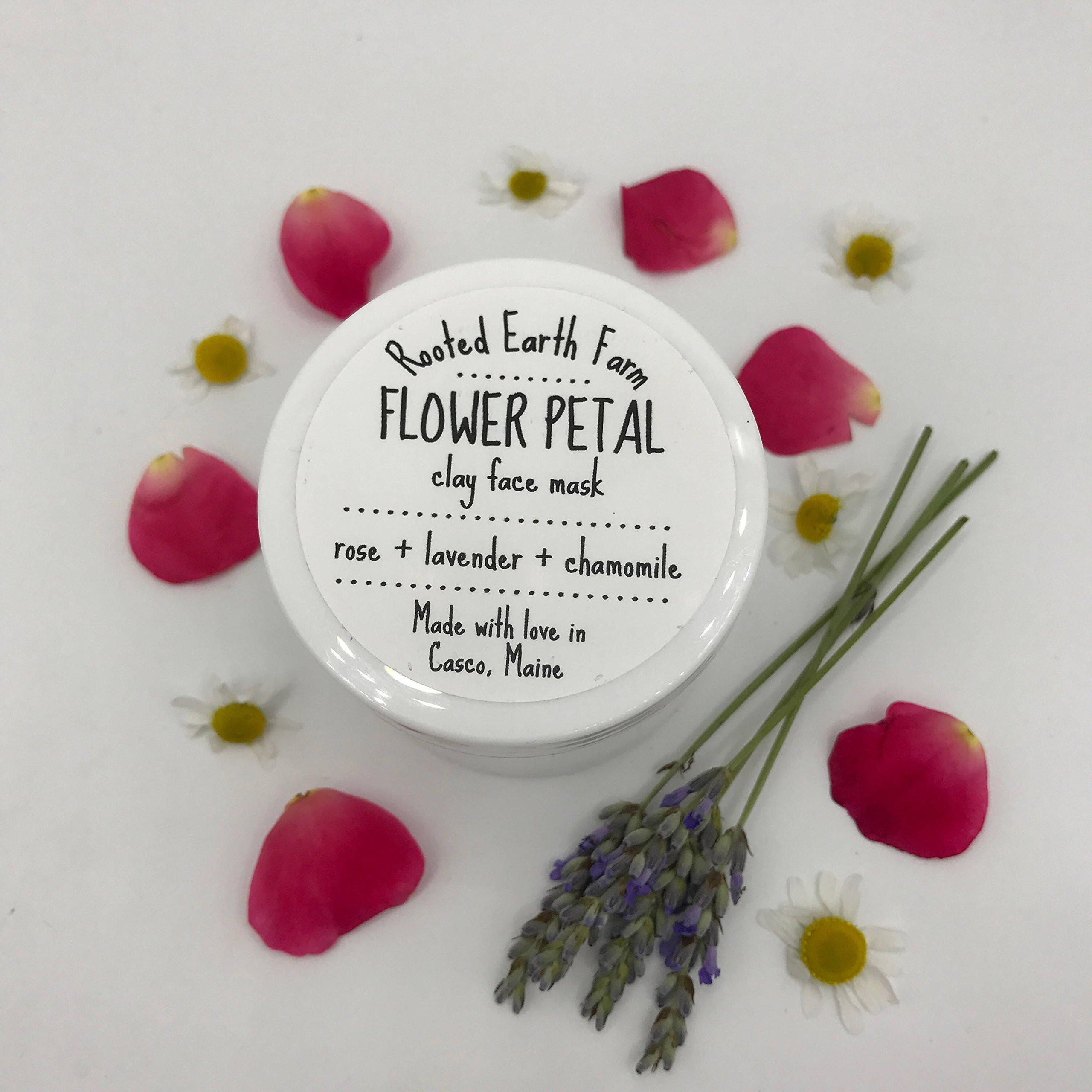 Herbal Clay Mask, Acne Treatment, Blackhead Remover, Pore Cleanser